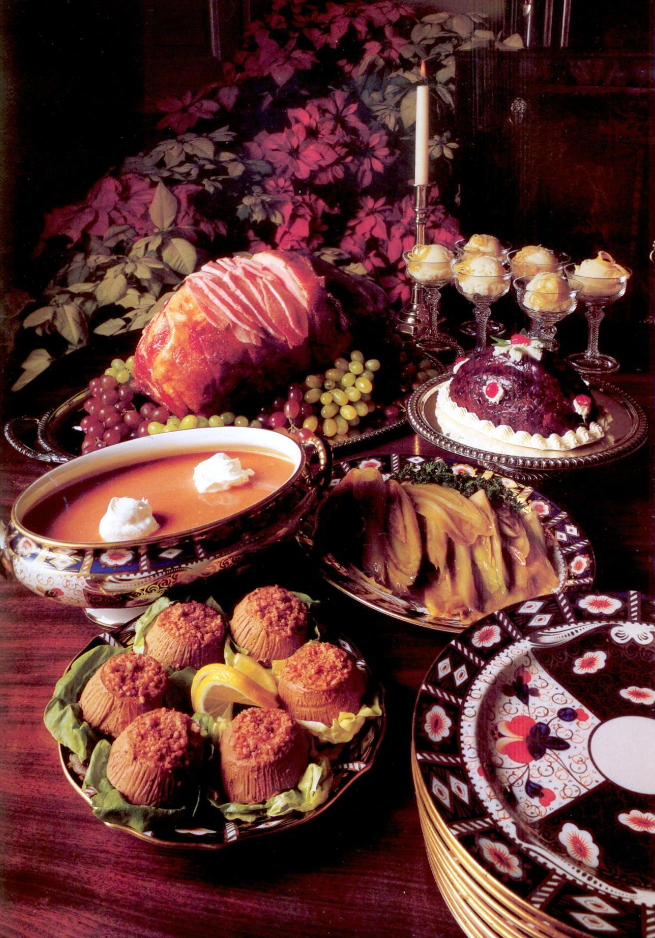 Christmas Dinner In Colonial Williamsburg Virginia