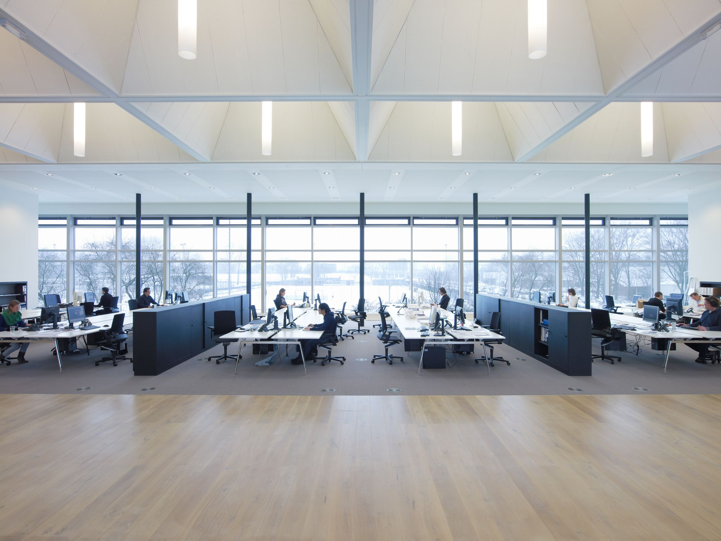 natural light office. Have Plenty Of Natural Light It Needs To Be Complemented With Indirect Ambient Lighting That Office