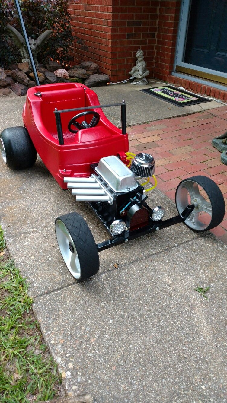 Pedal Cars, Rat Rod Cars