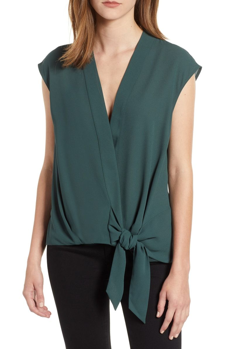 fafd351c00a13 Free shipping and returns on Trouvé Wrap Top at Nordstrom.com. For the  casualwear
