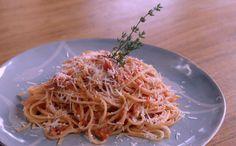 Para um jantar típico italiano
