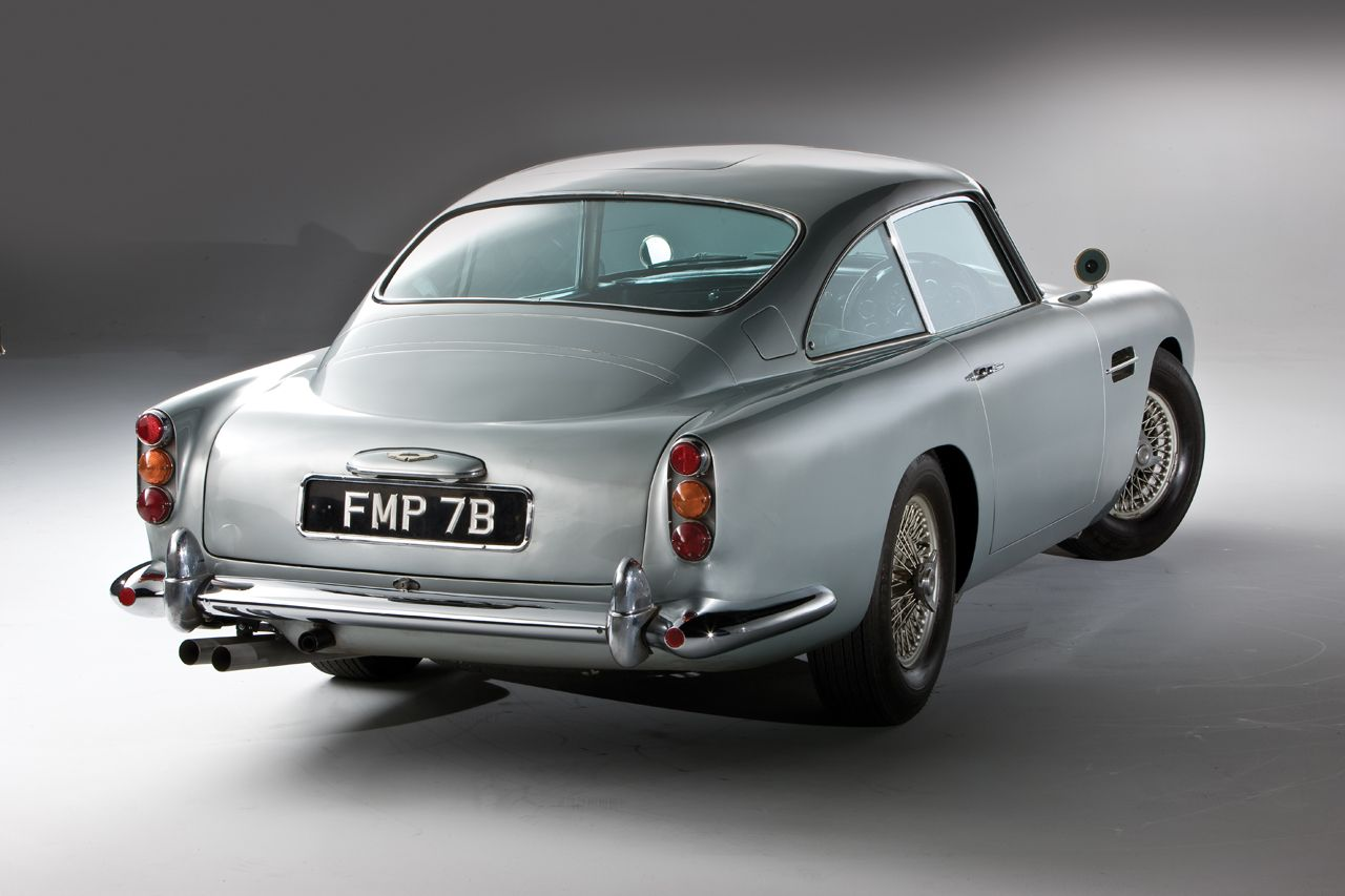 james bond's 1964 aston martin db5 | transport | pinterest