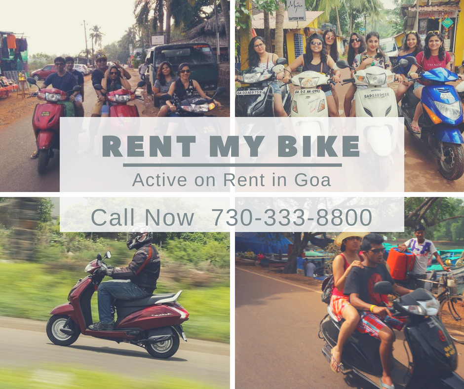 Activa On Rent Rent Scooter Rental Goa