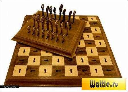 Необычные шахматы Skeleton Key Chess Set - ключ к качественной игре, Продукция со звездными войнами, Рисунок шахматной королевы, Играть в необычные шахматы