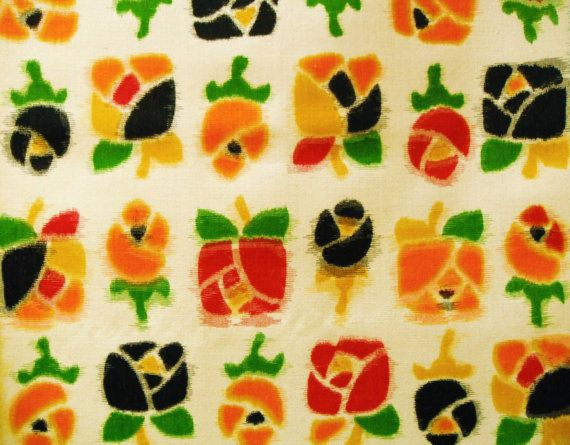 Special Offer  Colourful Handwoven Floral Vintage by CosimaOrimono