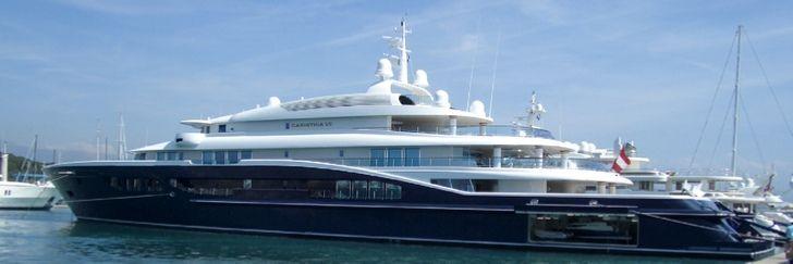 motor yacht Carinthia VII