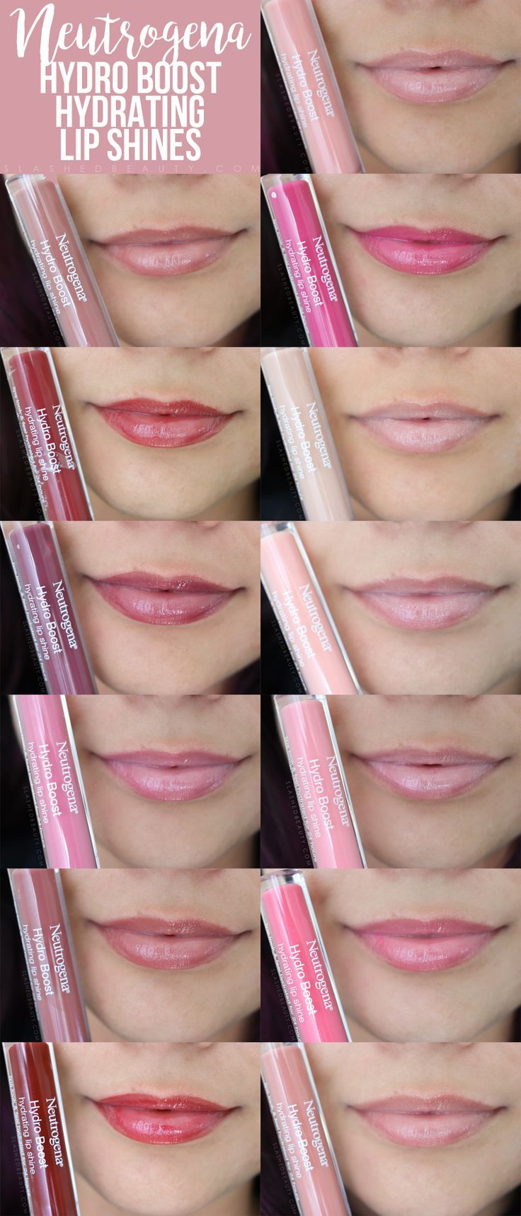 Best Lip Color for Dry Lips Neutrogena Hydro Boost