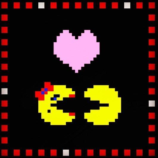True Love Mspacman Pacman Arcade Videogames Namco Bally Atari