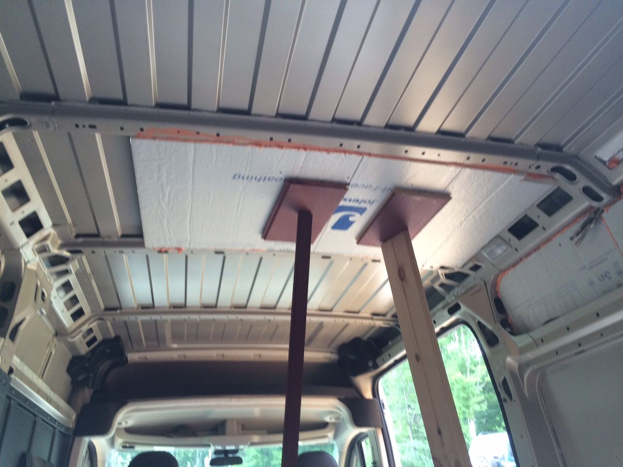 This Section Covers Insulating Your Camper Van Conversion