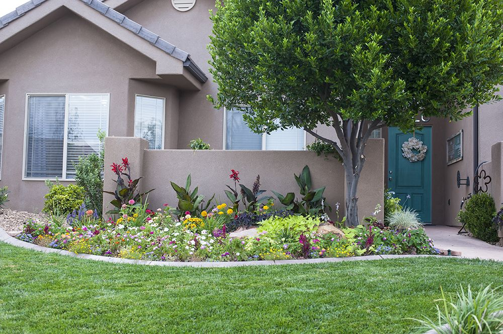 Front yard landscaping update and progress report how for Landscaping rocks broward county