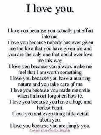 Romantic things to say to boyfriend
