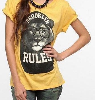 Love this Brooklyn Rules tee. And I'm not even from there.