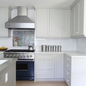 Benjamin Moore Brushed Aluminum Home Grey Kitchen Designs
