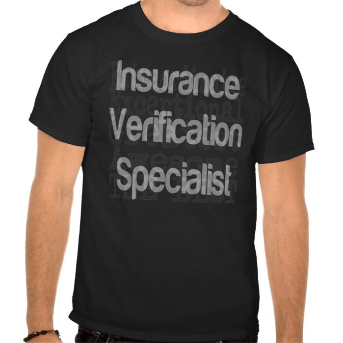 Insurance Verification Specialist Extraordinaire T Shirt Hoodie