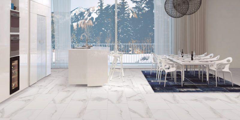 Alsacia Luxury Tile Modern Kitchen Design Dining Room Inspiration