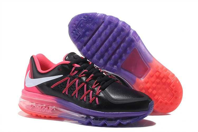 1830 Nike Air Max 2015 Dam Svart Rosa Lila Rosa Se920500ukqzksg Nike Air Max Nike Air Max 2015 Cheap Nike Air Max