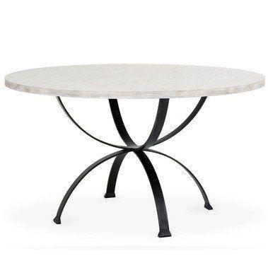 sophia round dining table beachwood see more finish options scenario home