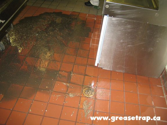 A grease trap backup is unpredictable with a passive grease trap. The grease blockage must be fixed at the expense of a plumber.