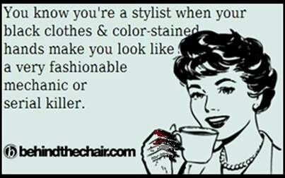 Funny Quotes About Hair Stylists Hair Stylist Issues With Images Hair Stylist Life Hairstylist Humor Hairdresser Humor