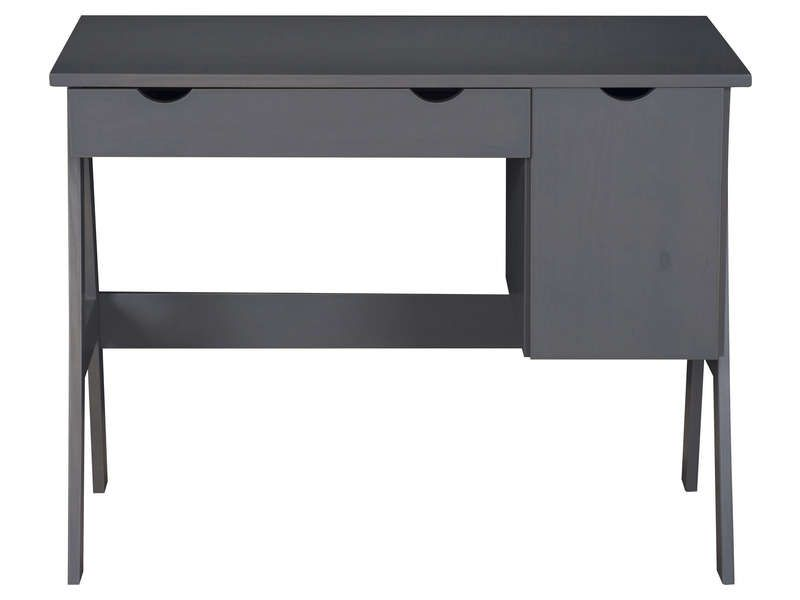 Bureau porte tiroir dolly coloris gris vente de bureau