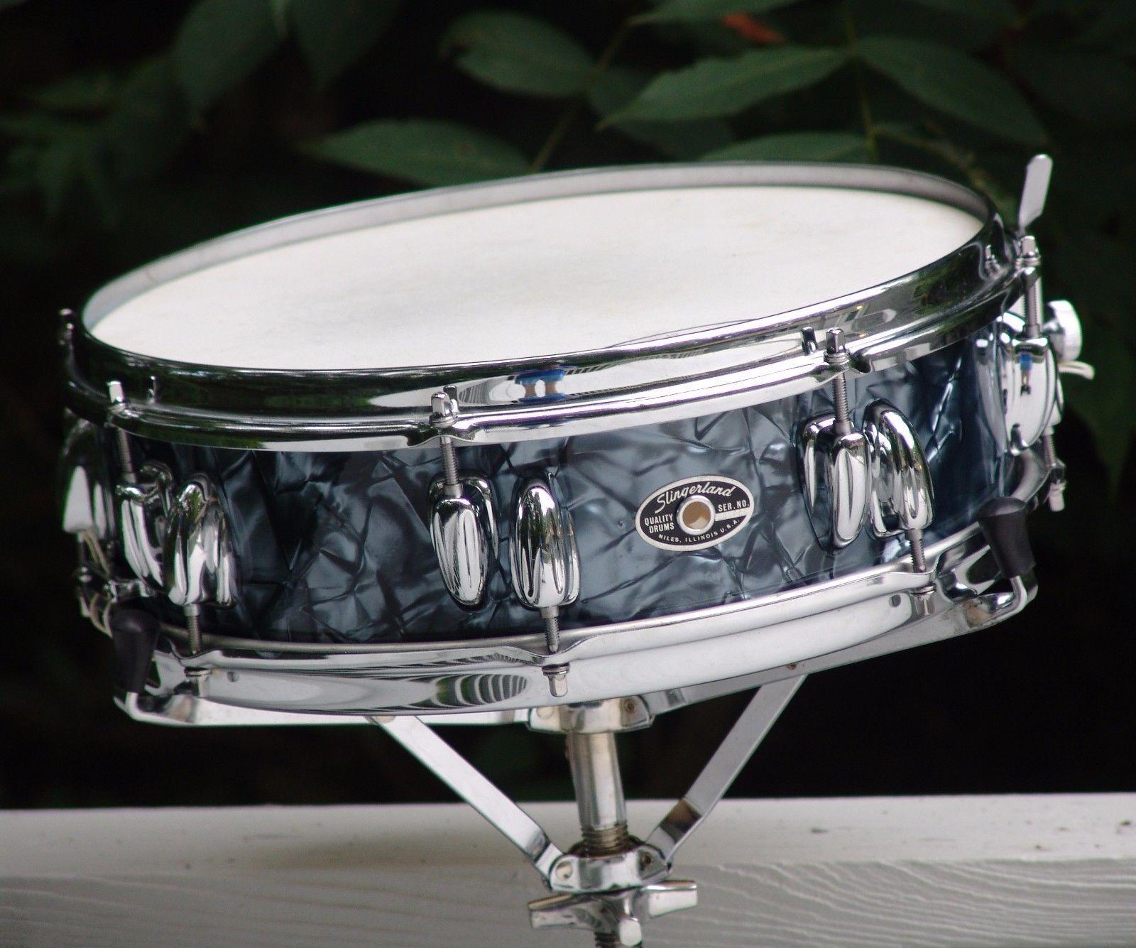 Vintage 1970s Slingerland Buddy Rich Snare Drum