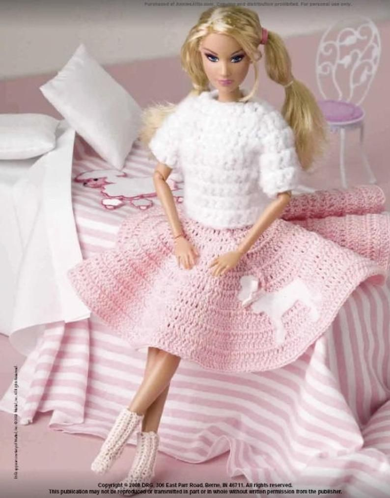 Pin On Crochet Barbie And Ken Dolls