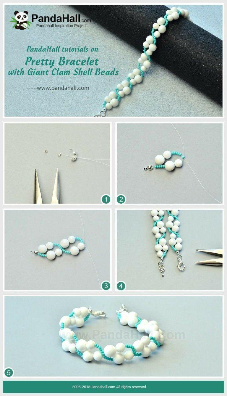 06ce31df9e2f Bisutería PASO A PASO para hacer esta delicada pulsera!    How to make this  beautiful bracelet! DIY!