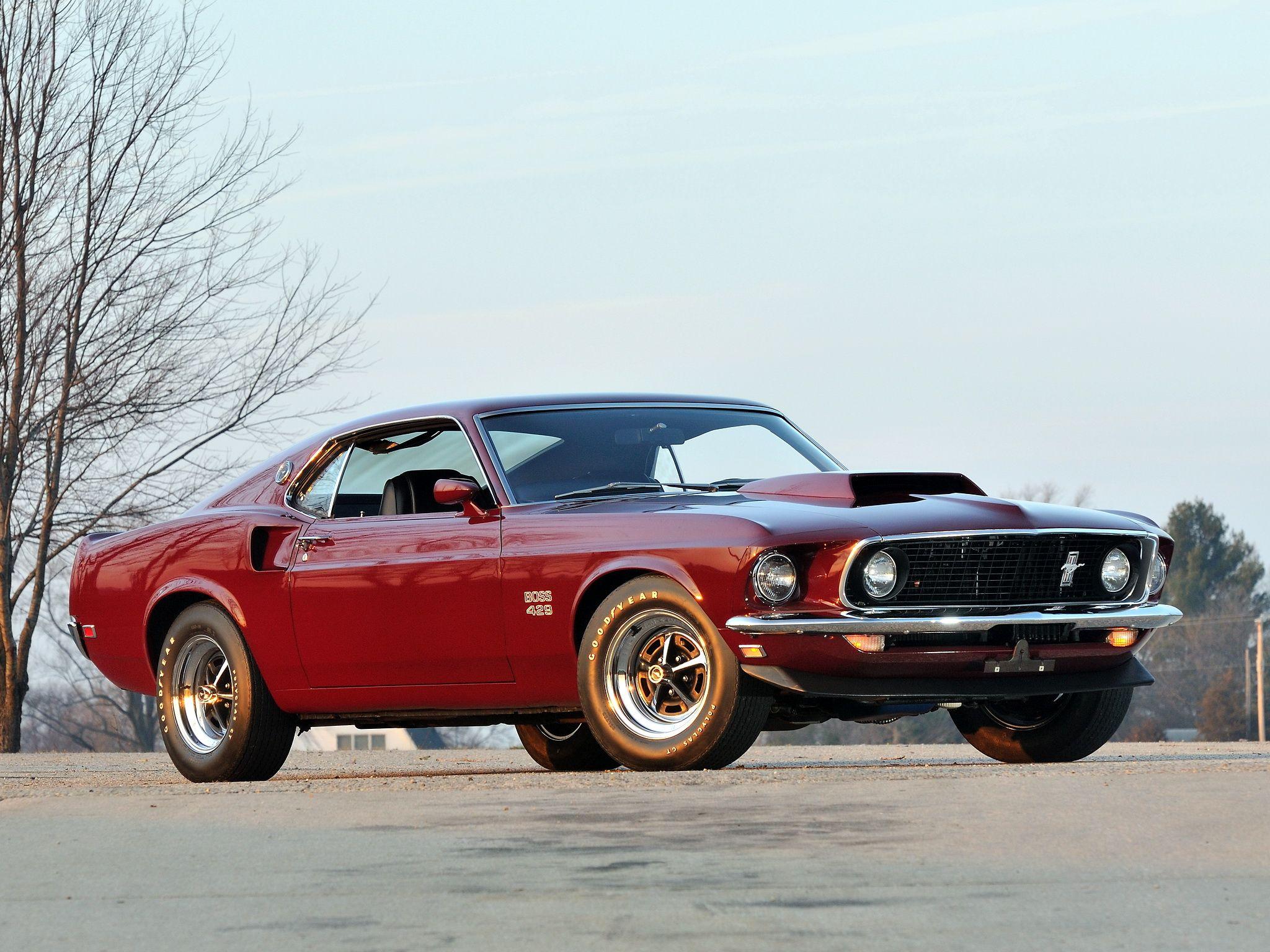 1969 Mustang Boss 429 Cars