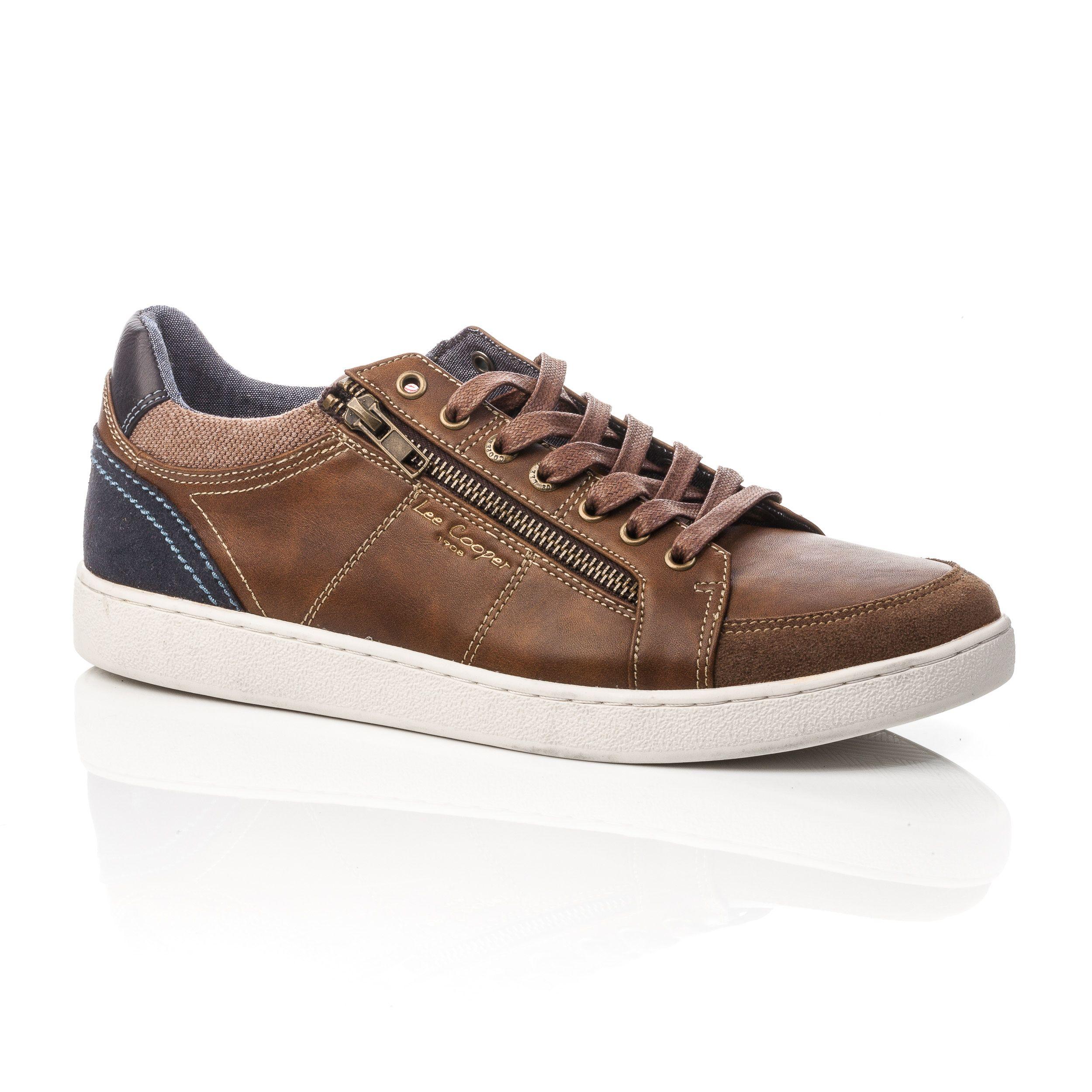 Baskets Sneakers Homme Marron   Sneakers, Basket sneakers