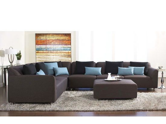 Dania - Sectionals - Lecta Sectional  sc 1 st  Pinterest : dania sectional - Sectionals, Sofas & Couches