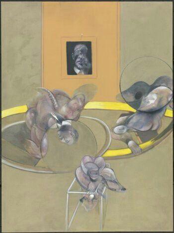 Three Figures and Portrait (1975)