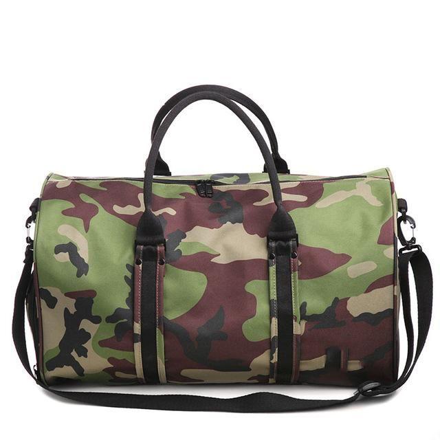 c6f35b35f Men Gym Sports Bags Women Fitness Nylon Travelling Bag Shoe Storage Tote  Large Capacity Black Luggage Outdoor Sport Bag XA405WD