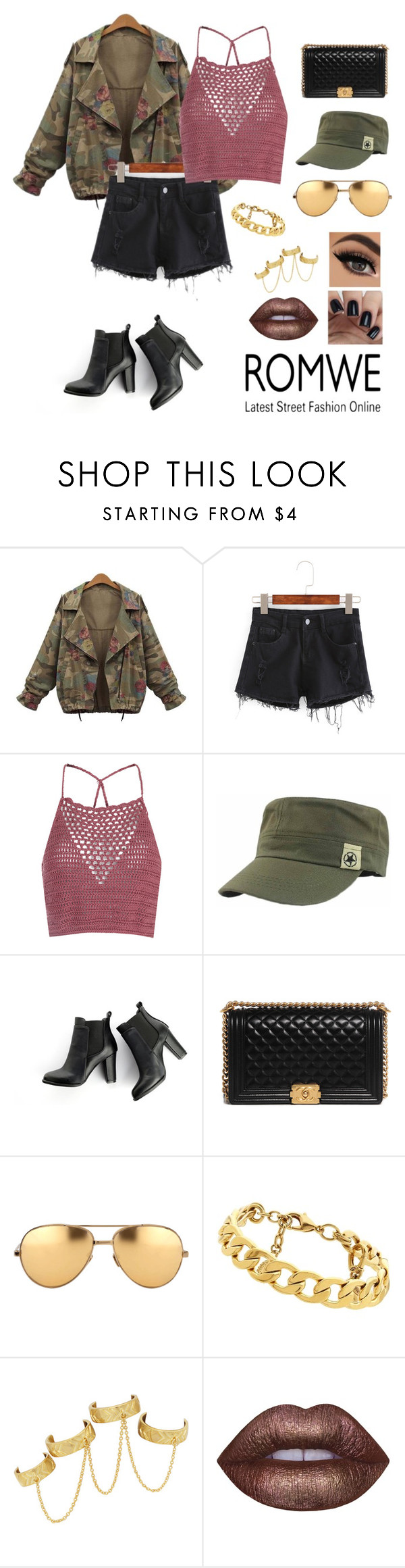"""""""• Rough and Tough •"""" by zootzi ❤ liked on Polyvore featuring Glamorous, SWEET MANGO, Chanel, Linda Farrow, Juicy Couture, House of Harlow 1960 and Lime Crime"""
