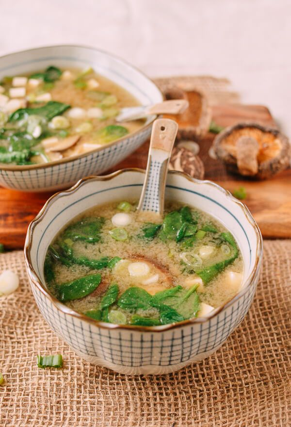 Superfood Miso Soup Recipe Asian Food Recipes Pinterest
