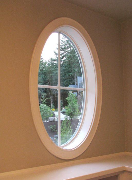 Oval Window Frame Window Door Trim Oval Window Window Trim Exterior Interior Windows