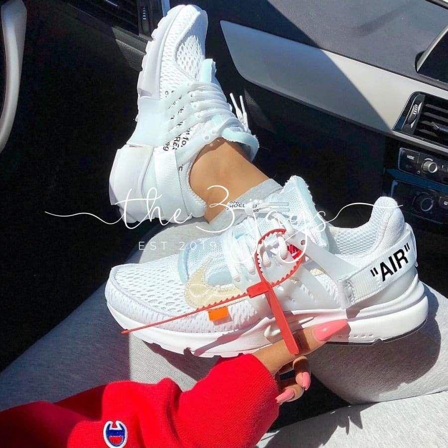Off White Presto White Nike Schuhe Jordan Schuhe Schuhe Damen