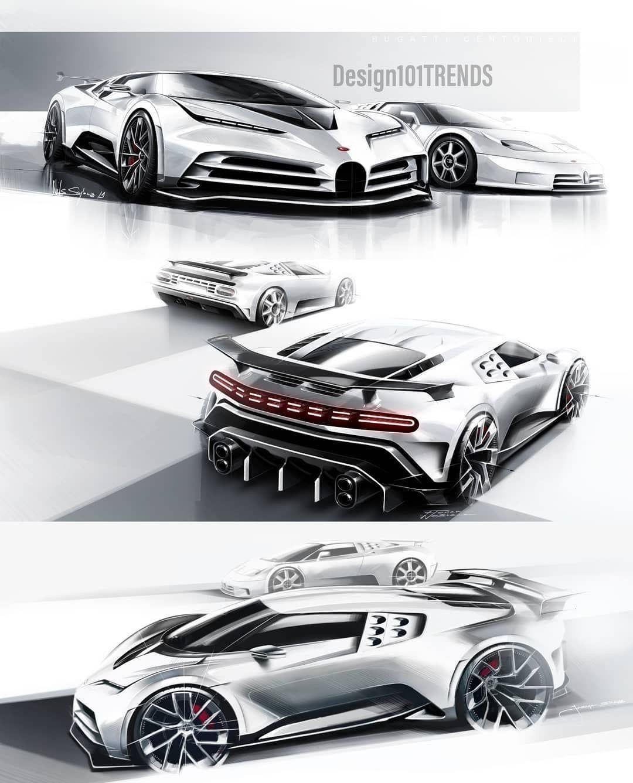 Bugatti Futuristic Cars Concept Car Design Concept Cars