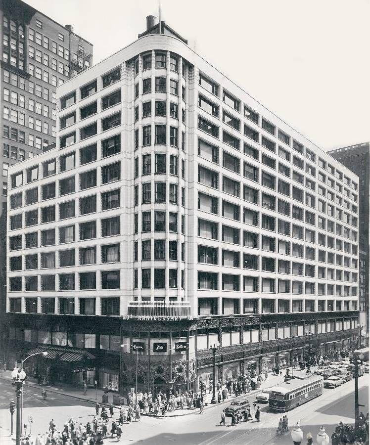 Louis Sullivan, Carson, Pirie, Scott Building
