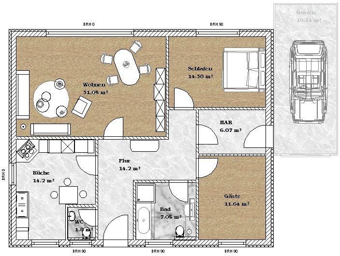 Haus bauen bungalow  Hausbau, Haus Kalkulieren, Salzwedel, Bungalow bauen in Salzwedel ...