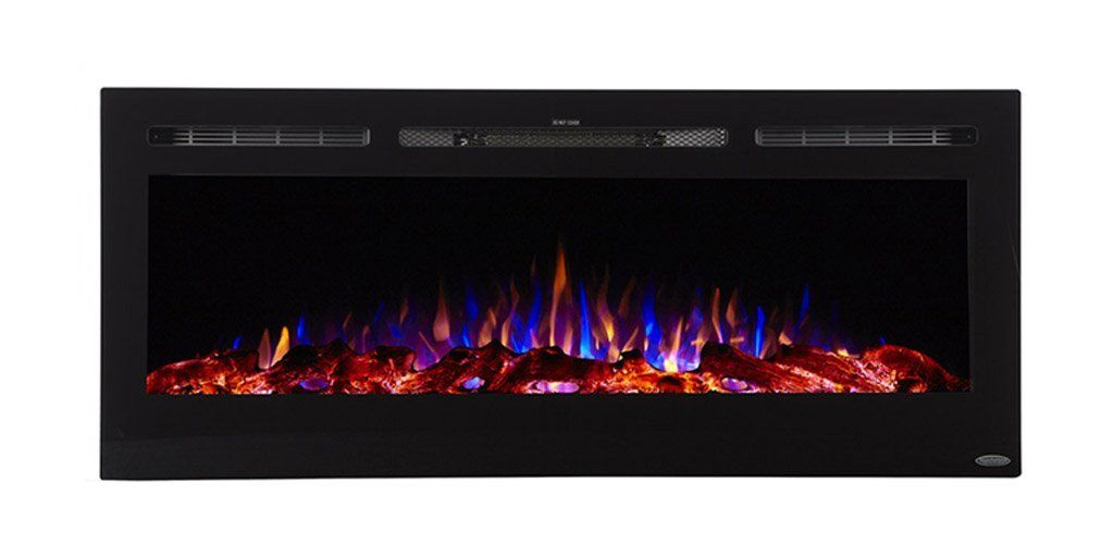 Touchstone 80004 Sideline 50 Recessed Electric Fireplace 50 Wide