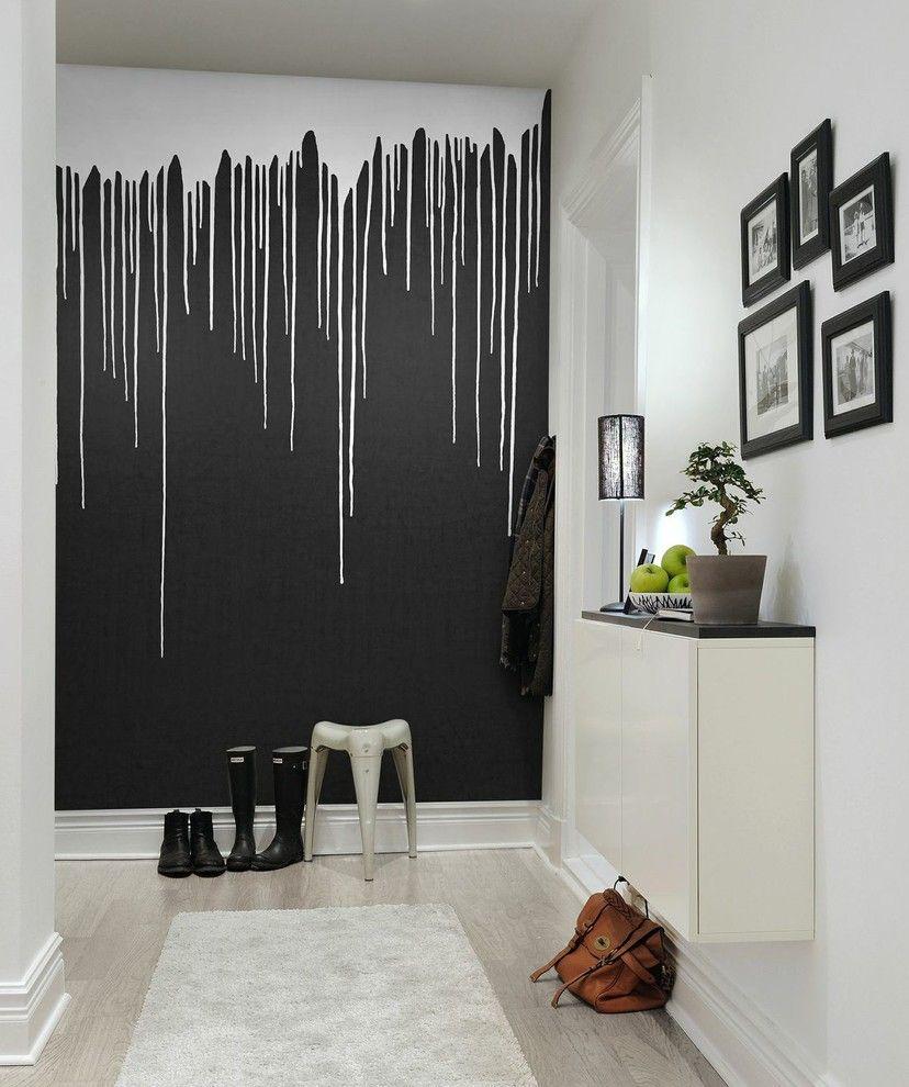 Hallway wallpaper or paint   Elegant Scandinavian Hallway Designs That Can Improve Your Home