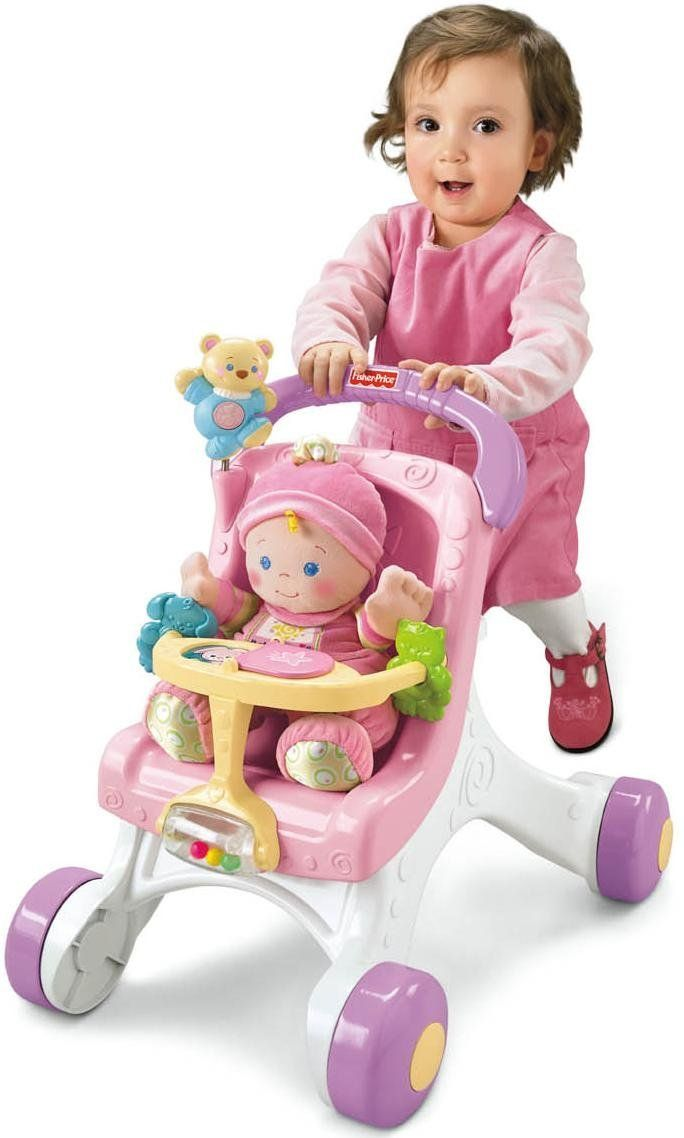 Fisher Price Stroller Walker For Girls Baby S First Doll