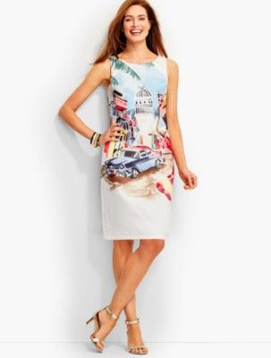 2822c2be6f6e Talbots: Island Life Shift Dress | Products in 2019 | Dresses ...