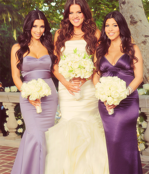 Kardashian Gowns Khloe Bridesmaid