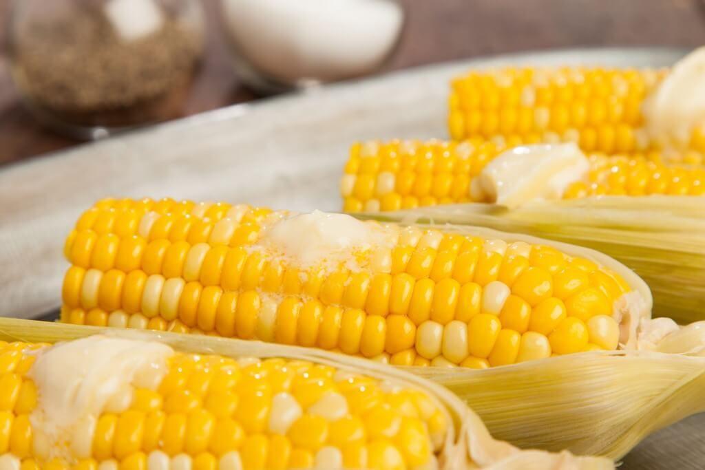 Steamed Corn on the Cob   Recipe   Steam corn Healthy ...