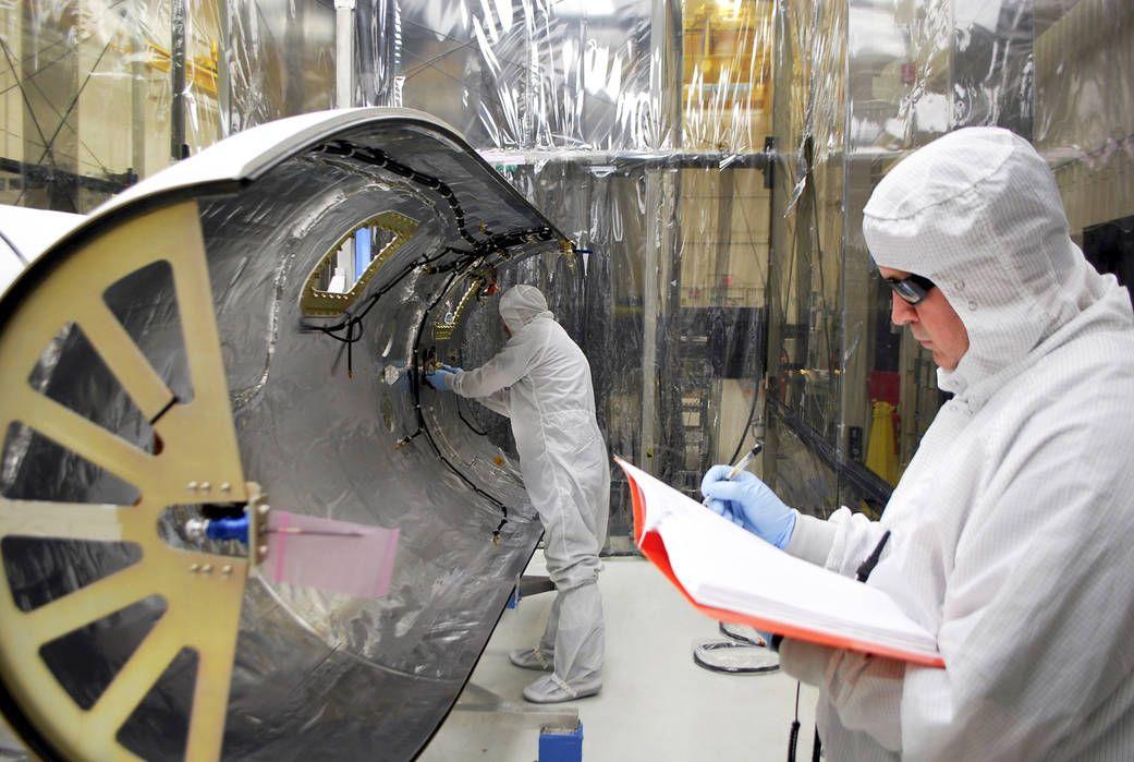 Preparing Solar Satellite for Launch Nasa, Nasa launch