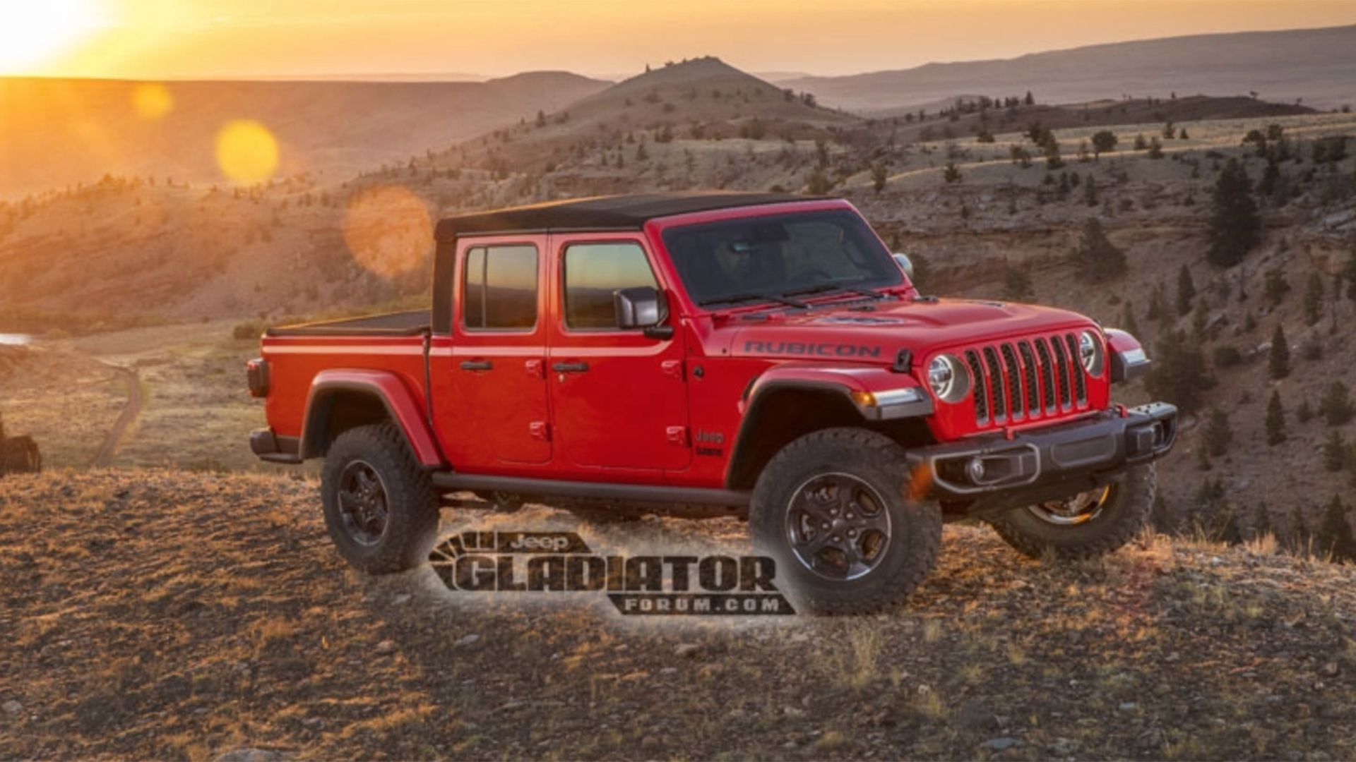2020 Jeep Gladiator Pickup Truck Images, Official Specs