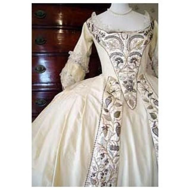 18 Century Wedding Dresses | -wedding-dress-baroquerococo-17th18th ...