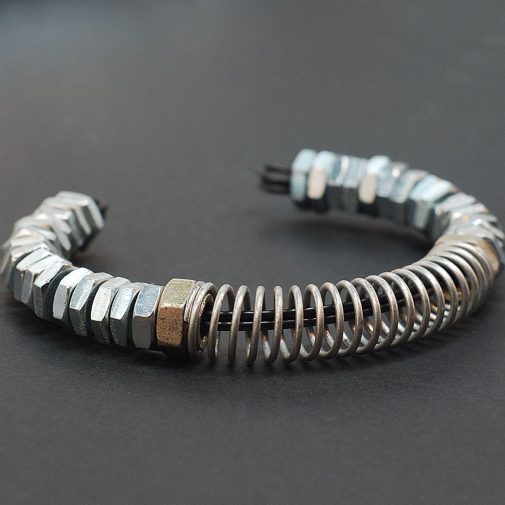 Industrial Hardware Bracelet jewelrybracelets Pinterest