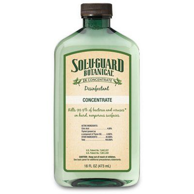 Sol U Guard Botanical 2x Disinfectant Epa Approved Botanical Formula Gentle Enough To Use Around Kids Pets And Fo Melaleuca Melaluca Products Herbal Scents